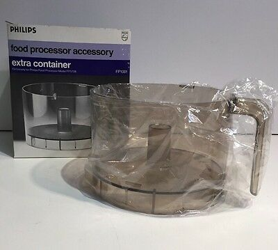 Philips Food Processor FP5708 Extra Bowl Container FP1001 Accessory