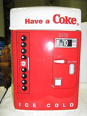 Coca Cola Machine Cookie Jar