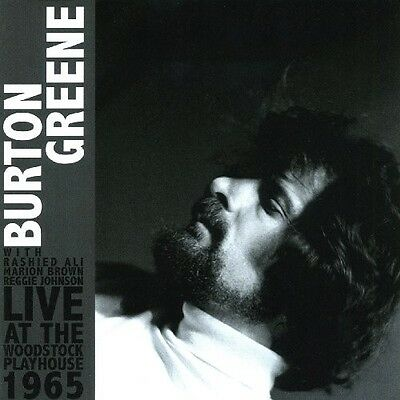 Live At The Woodstock Playhouse 1965 - Burton Greene (2010, CD NUEVO)