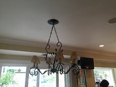 French Country Antique Chandelier