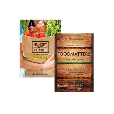 New Food Matters + Hungry For Change DVD Pack