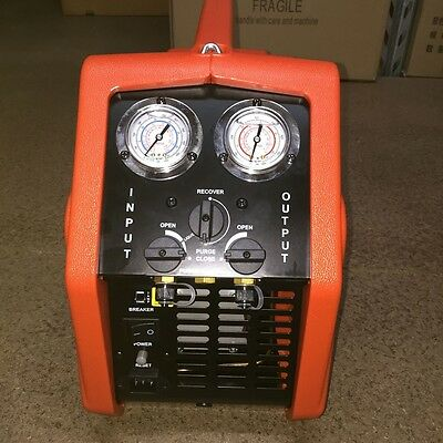Portable Refrigerant Recovery Unit/Reclaim Units VRR12A 3/4HP