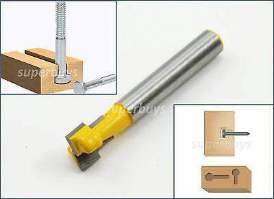 9.25mm T-Slot Wood Cutter Bottom Cleaner Router Bit Milling Cleaning Keyhole Y