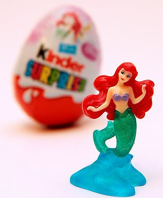 Ariel Kinder Egg Surprise Toy Disney Princess Little Mermaid Figure Cake Topper