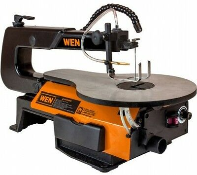 WEN 16-inch Variable Speed Scroll Saw With Flexible LED Light