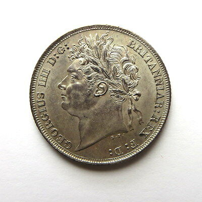 ** George IV Silver Shilling 1821AD Mint State**