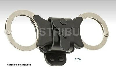 1 x Klick Fast Leather Handcuff Dock P200, Quick Cuff Speedcuff Security, Police