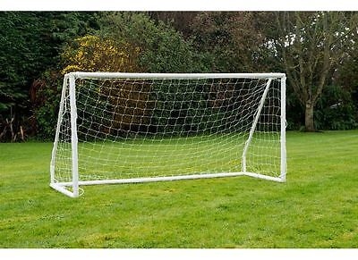 Childrens Football Goal 8x4ft Striker Posts Free Standing Portable Easy Assembly