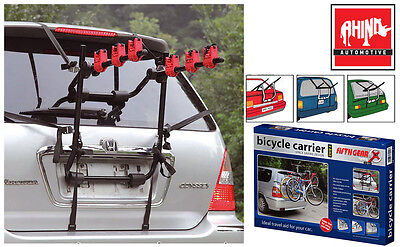 Toyota Iq 09-On 3 Bicycle Rear Mount Carrier Car Rack Bike Cycle