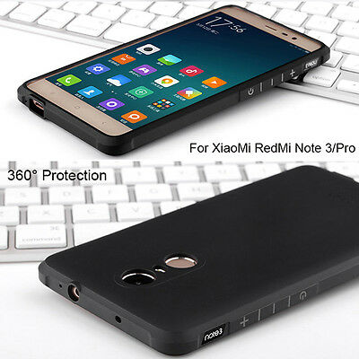 Protection 360° Ultra-thin Soft Rubber Shockproof Case Cover For XiaoMi RedMi
