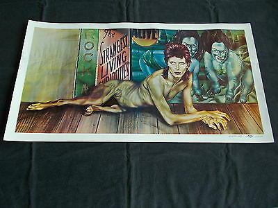 +++ 1974 DAVID BOWIE Diamond Dogs Promo Poster RCA by Peellaert