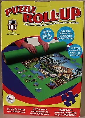 "Master Pieces Puzzle Roll Up Mat 36"" x 30"" 1000 Pieces New In Box"