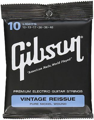 Gibson Gear Vintage Reissue Electric Guitar Strings Light (10-46)