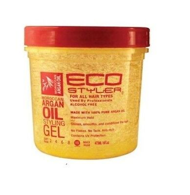 Eco Styler Argan Oil Styling Gel 12 oz 355 ml