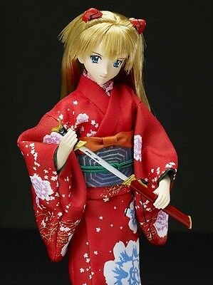 New Takara Tomy Evangelion Asuka Langley and Japanese sword In Stock Japan F/S