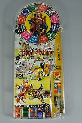 Vintage Pinball Bagatelle Game, Marx Toys, King Arthur Knights of Round Table