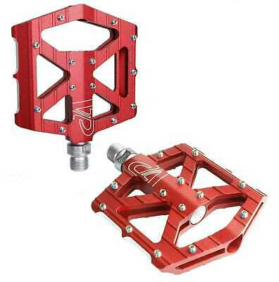 VP Alloy CNC Mountain MTB BMX Bike Bicycle Flat Pedals Red