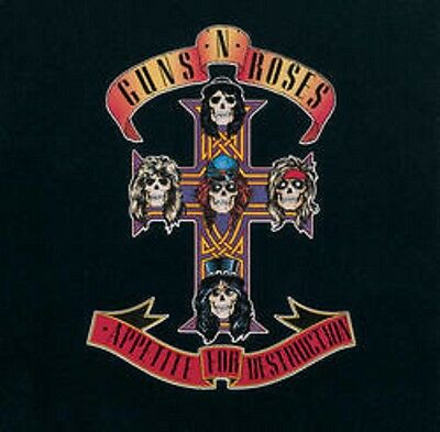 Guns 'n' Roses - Appetite for Destruction - New Sealed Vinyl LP
