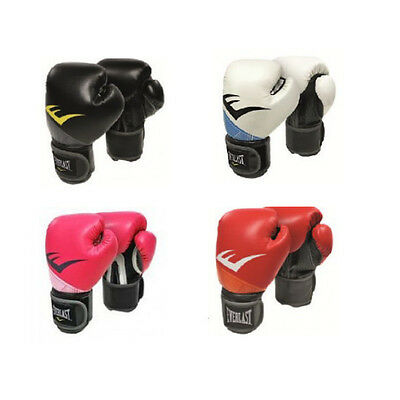 Everlast Pro Style X Boxing Gloves Bag Sparring Black Red Pink Adult Kids