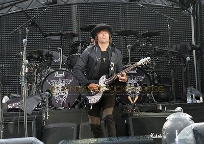 "Richie Sambora Bon Jovi Photo 8x12 or 8x10"" Live Concert 2011 Manchester UK s23"