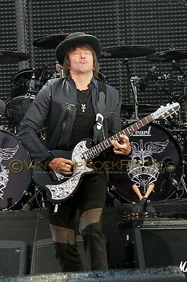 "Richie Sambora Bon Jovi Photo 8x12 or 8x10"" Live Concert 2011 Manchester UK s38"