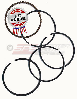 Piston Rings 47mm GY6 50 139QMB 80cc Big Bore Scooter Moped ~ US Seller
