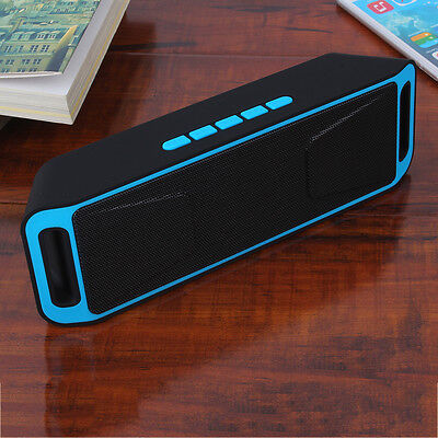 Bluetooth Wireless Speaker Portable Heavy Bass w/FM For Smart Phone&Tablets FG