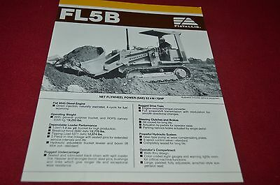 Fiat Allis Chalmers FD5B Crawler Tractor Loader Dealers Brochure DCPA6 ver3