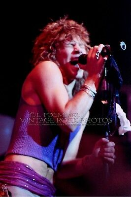Jon Bon Jovi Photo 8x12 or 8x10 inch Live 1980's Concert Pro Print Exclusive L49