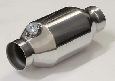 """High Flow Catalytic Converter 2.25"""" Bullet Style 100 Cell Also Suitable For 4Wd"""