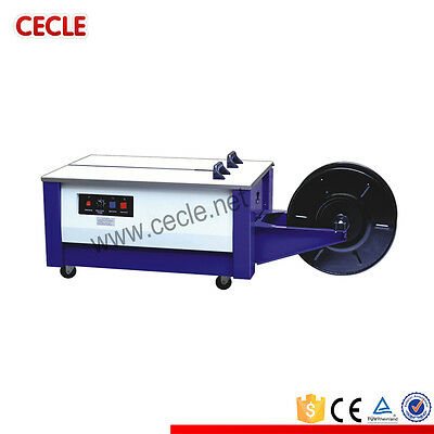 Semi Automatic Strapping Machine Wooden Carton Packing Machine By Sea