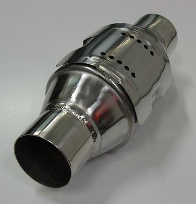 """2.5"""" Stainless Steel High Flow Catalytic Cat Converter 200 Cell Cpi Race 4Wd"""