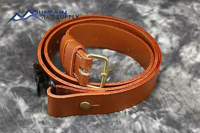 Swede Mauser Rifle Leather Sling Swedish m1896 m96 m38 m/96 m/38 1938 Carbine