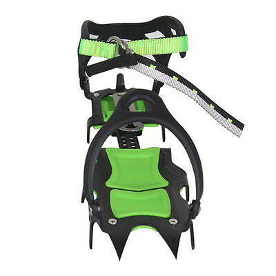 14-Teeth Ice Gripper Bundled Crampons Snow Spikes Climbing Shoe Boots Cleats