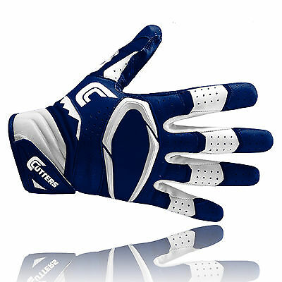 Cutters S451 REV PRO 2.0 American football receiver gloves, navy