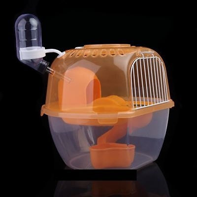 Mouse Rat Hamster Travel House Water Feeder all in one fun toy house tiny pets