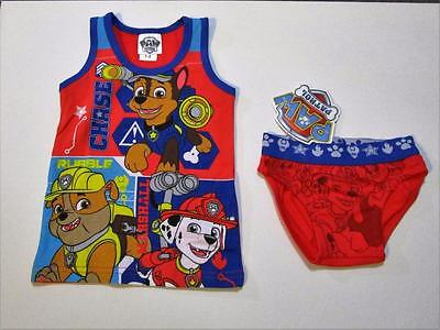 Paw Patrol Size 1-2 years Boys Tank and Brief Set  New with tags