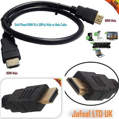 1m-20m Premium Gold HDMI High Speed Video Kabel für LCD HDTV 3D PS3 Xbox 360 SKY