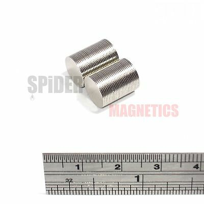 50 Magnets 10x0.5 mm Neodymium Disc thin round craft magnet 10mm dia x 0.5mm