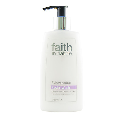 Faith In Nature Rejuvenating Facial Wash - 50ml