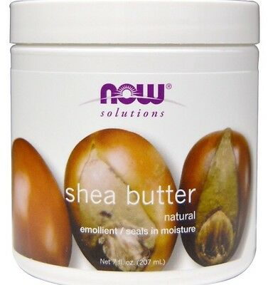 NOW Solutions SHEA BUTTER 207ml - Pure Stretch Mark Treatment