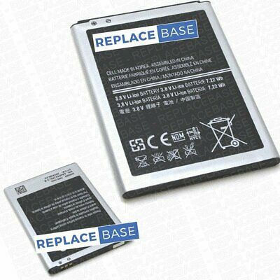 For Samsung Galaxy S4 Mini Replacement Battery 1900mAh B500BE 3 Pin OEM