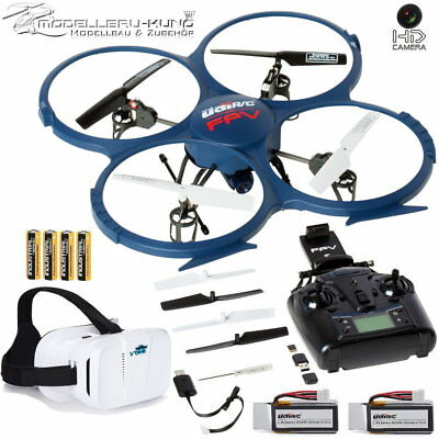 UDI-RC U818A WIFI FPV Drohne mit HD Kamera Headless Return-Home + Videobrille