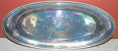13 X 6 Inch Silver Plate R. Wallace 0500 Oval Serving Dish Platter ~120~