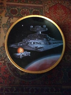 Hamilton Star Wars Space Vehicles Plate Collection STAR DESTROYER