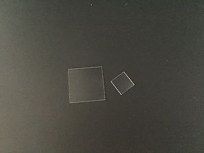 """Sapphire Substrate, C-Phase, DSP, L1""""*W1""""*T0.5mm, #SS-2SC-2525-50"""