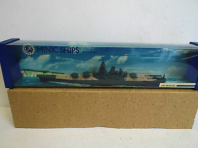 Hornby Minic Ships M744 I J N Yamato Mint Boxed (Am176)