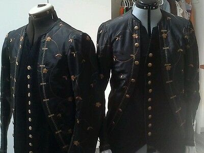 Colonial 18th c frock coat . female 8. Man's costume not available