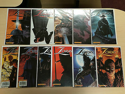 Zorro #1-20 2008 Dynamite DE Multiple Covers 40 Comics Complete Set Full Run NM