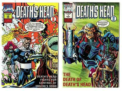 Death's Head II #1-4 Complete Set (1992) Marvel VF/NM to NM